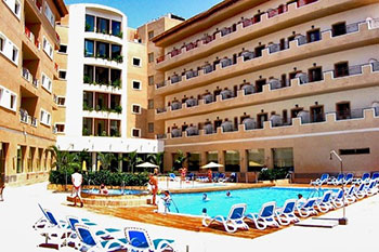 Hotel Costa Narejos - Hotel and pool