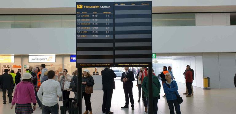 Corvera Airport Flights