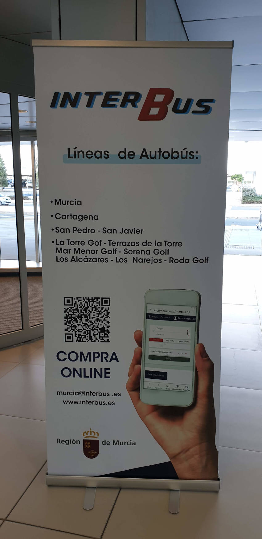 Corvera Airport Interbus App Details