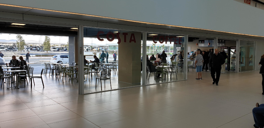 Costa Coffee Corvera Airport