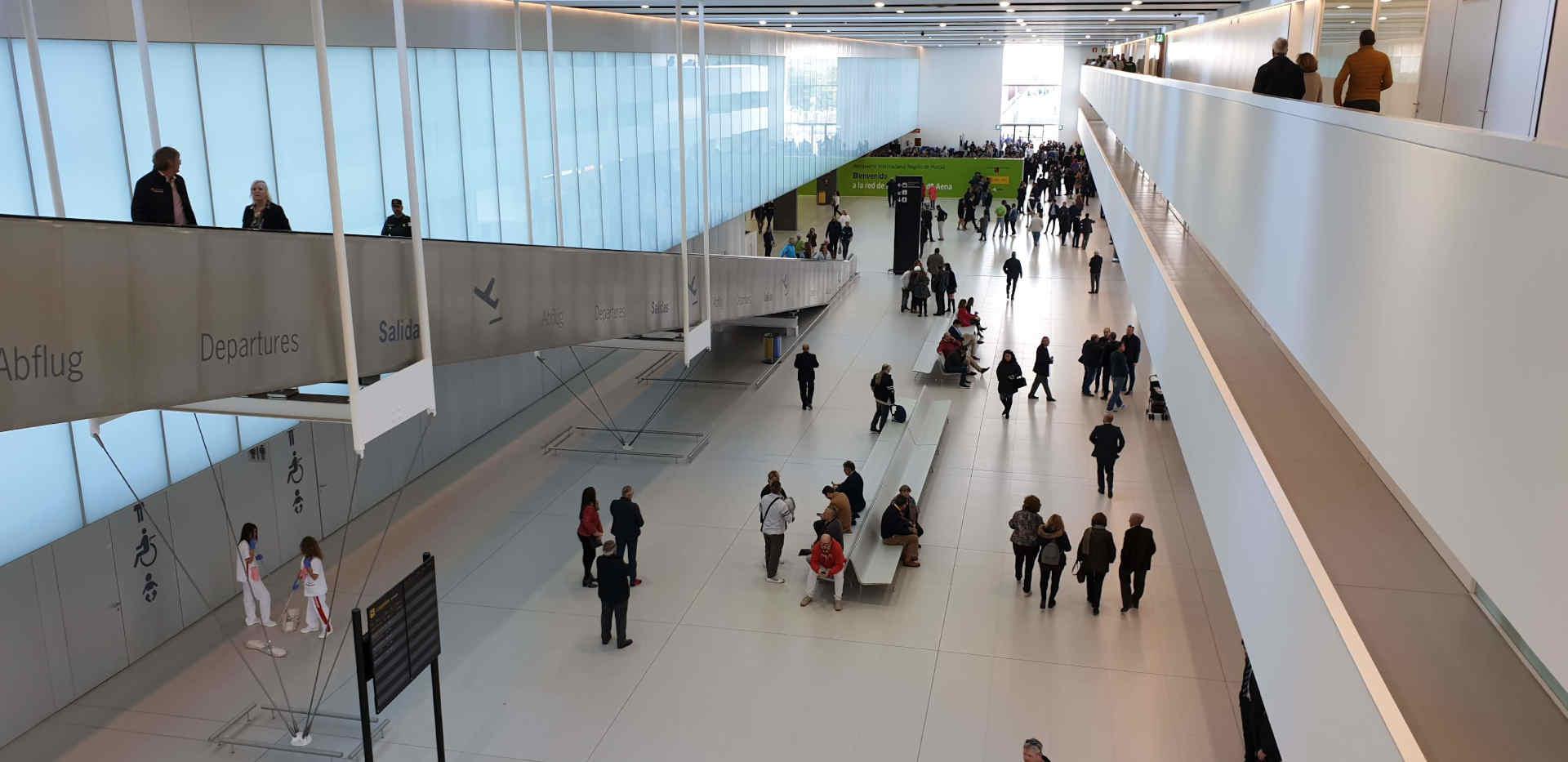 Inside Corvera Airport