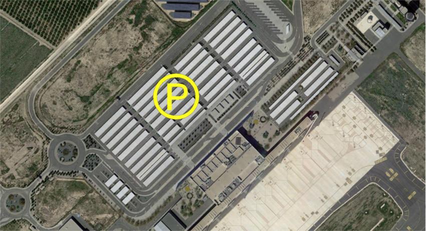 Corvera Murcia airport parking