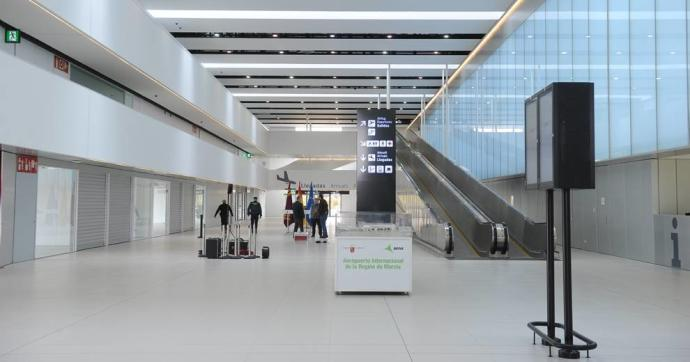 Corvera Airport Inside