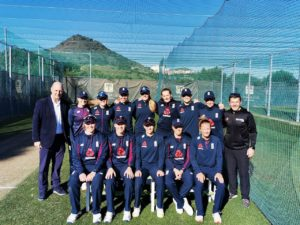 England women's cricket team at La Manga Club