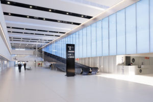 Empty terminal at Corvera Murcia Airport