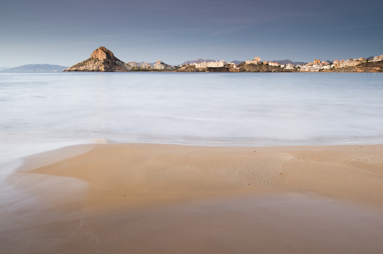 View of Murcia coastline
