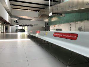 Corvera Airport Murcia terminal area