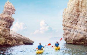 Kayaking on the Costa Cálida