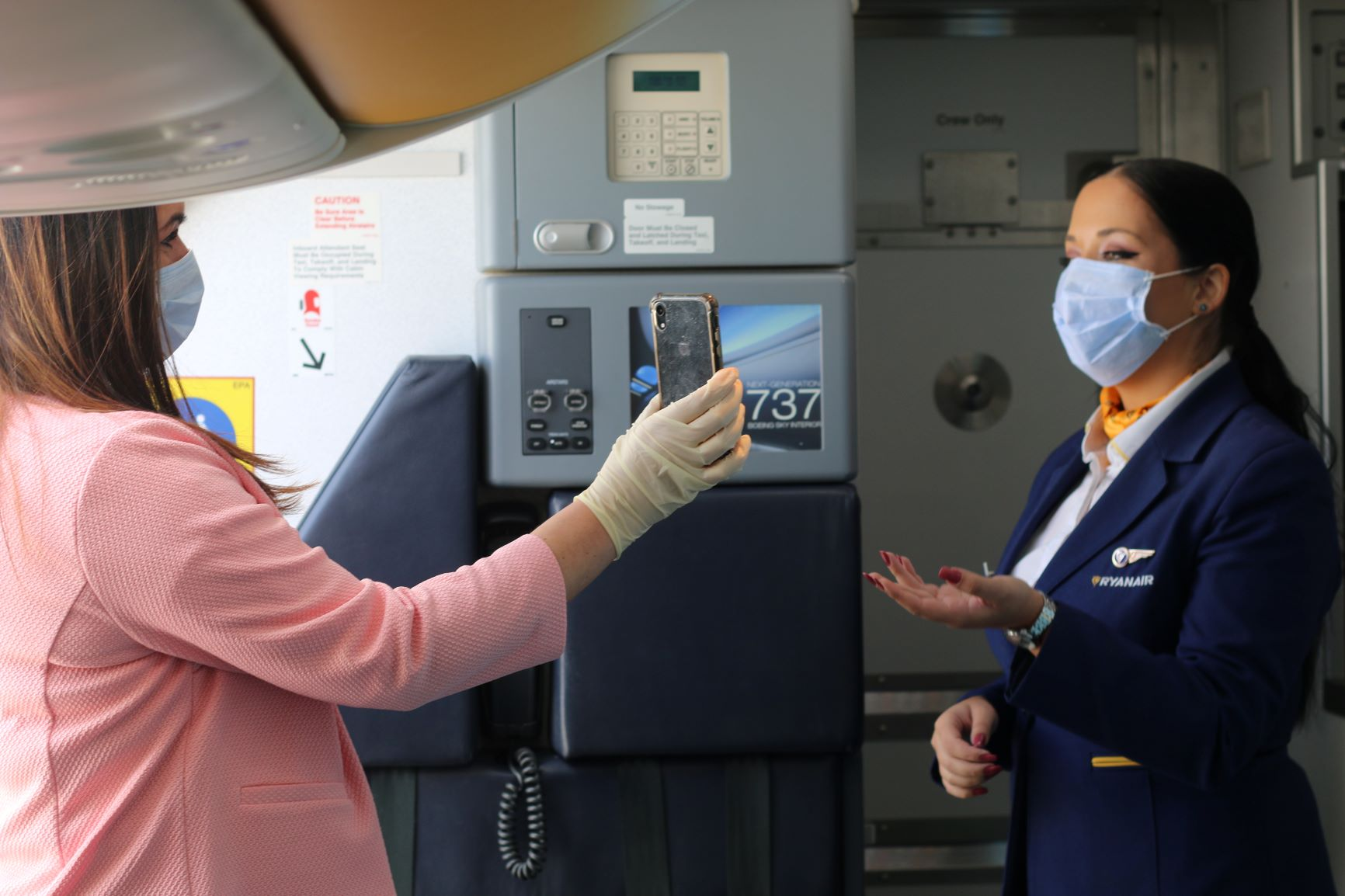 Boarding at Ryanair