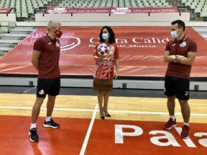 Presentation Murcia futsal team