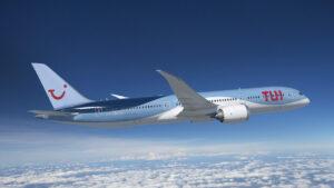TUI aicraft in flight